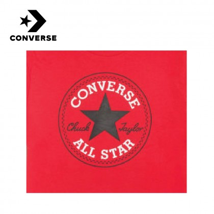 CONVERSE NOVA CHUCK PATCH TEE (RED)
